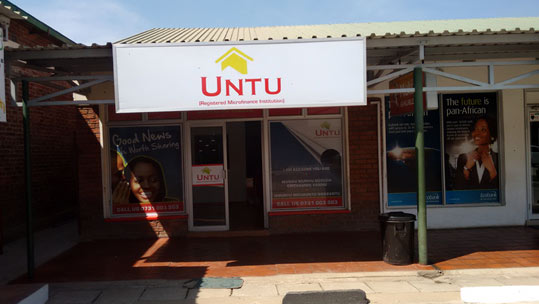 Untu opening up new branches